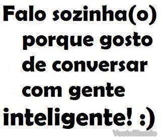 Frases Do Facebook Falo Sozinho Pontos De Vista