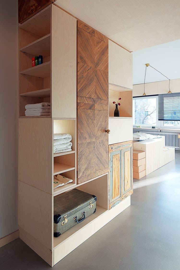 Bedroom Storage Cabinets Interior Design Ideas