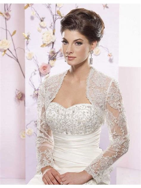 long sleeve wedding bolero   Tailor Made Long Sleeves