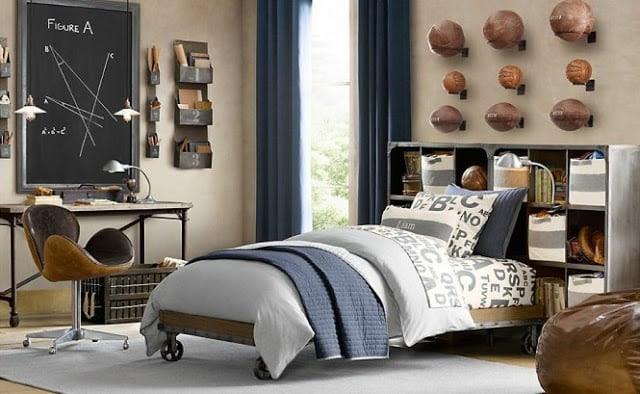 Sporty Bedrooms for Teen Boys - Design Dazzle