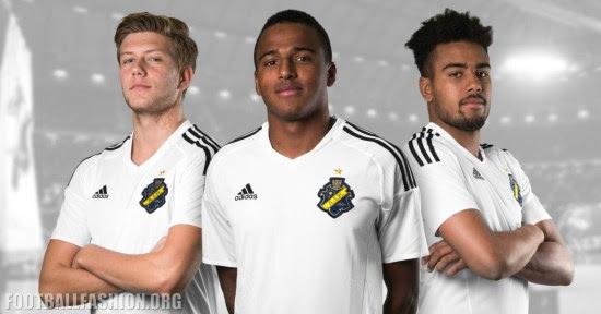 AIK Fotboll 2016 2017 adidas Football Kit, Soccer Jersey, Shirt, Matchtröja