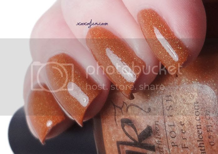 xoxoJen's swatch of Anne Kathleen Sana