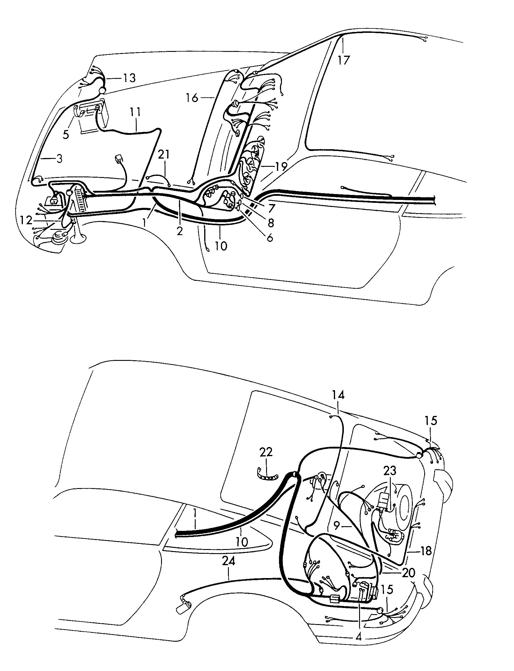 Porsche Wiring Harnes - Wiring Diagrams