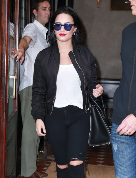 Demi Lovato Steps out in NYC