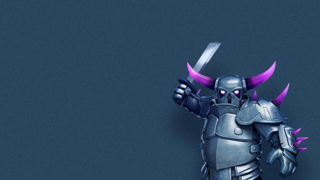 Clash Of Clans Wallpaper Pekka By Creativebooom On Deviantart