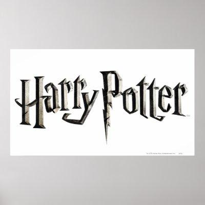 harry potter logo. Harry Potter Logo Print by harrypotter. Half Blood Prince