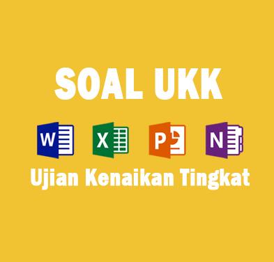 Contoh Soal UKK (Ujian Kenaikan Kelas) Mata Pelajaran Bahasa Indonesia SD Kelas 3 Format Microsoft Word