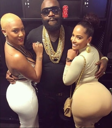 Image result for photos of rick ross with girls