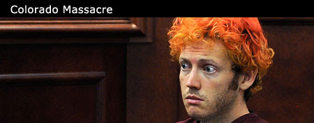 Colo. shooting suspect James Holmes appears in court (AP/Pool)