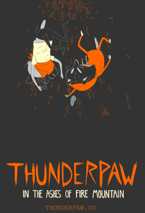 THUNDERPAW PAGE 5 IS UP!!!  No motion in this one. Originally I was going to animate glass shards rotating, but I feel like it would have taken away from the moment I was trying to capture on this page.