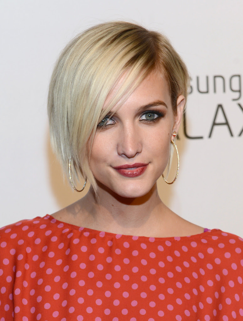 Ashlee Simpsons Pixie Cut The Best Hairstyles For Heart Shaped