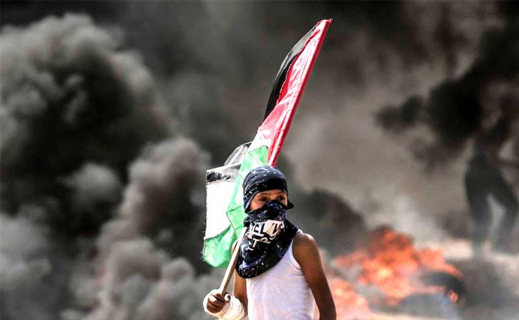 Mientras en Jerusalén se inauguraba la nueva embajada de Estados Unidos, en los territorios palestinos estallaban los disturbios / Foto: AFP