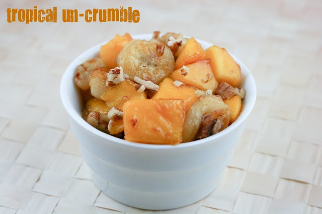 Tropical Crumble - Tuesdays with Dorie