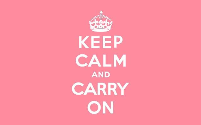 CARRY ON...