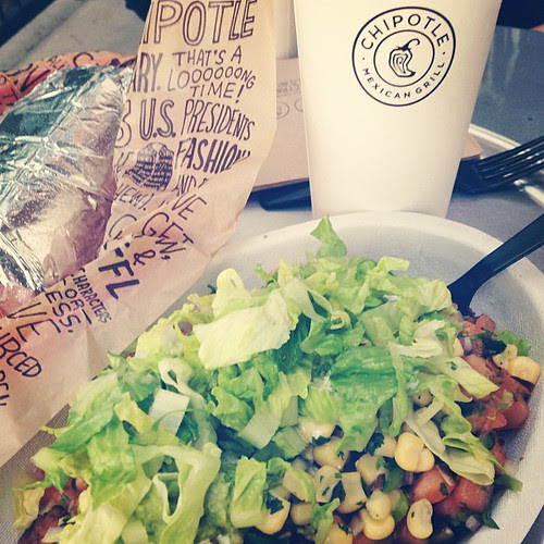 I swear. I'd eat it every. live. long. day. if I could. #chipotle #guacaholic