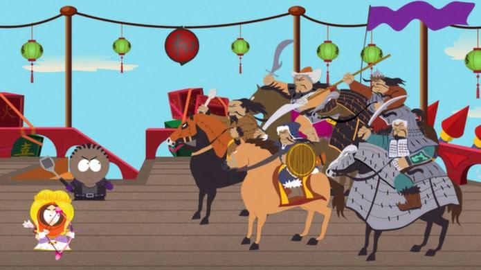Enfrente perigos reais com um pouco de fantasia em South Park: The Stick of Truth (Foto: Reprodução/Steam)