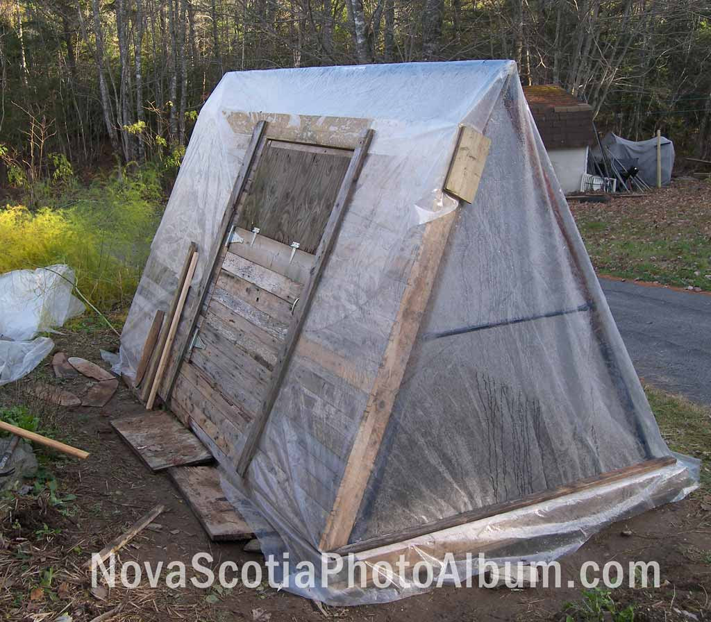 From An Old Swingset To A Greenhouse Nova Scotia Photo Album Blog