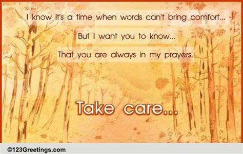 Always In Prayers  Free Take Care eCards, Greeting Cards