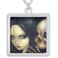 Faces of Faery 103 NECKLACE skull vampire fairy necklace