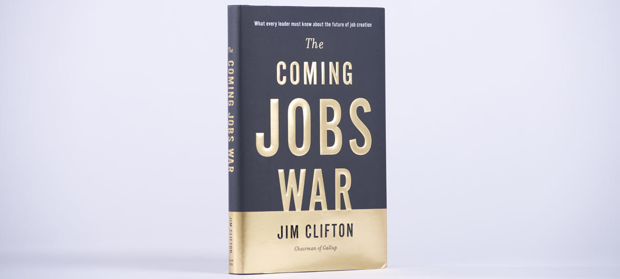 The Coming Jobs War book by James Clifton