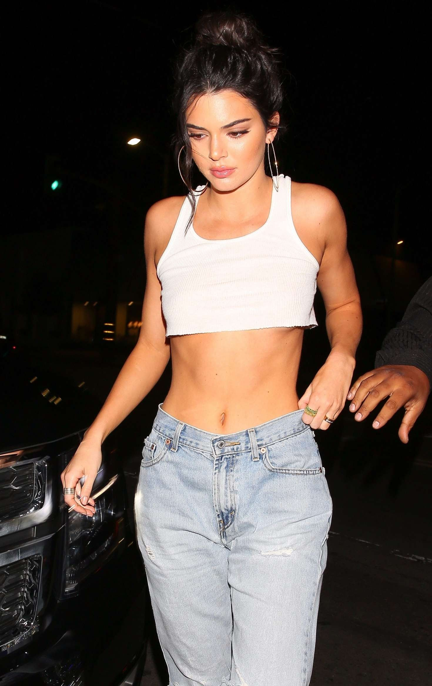Kendall Jenner – 22nd birthday dinner at Petite Taqueria in West Hollywood