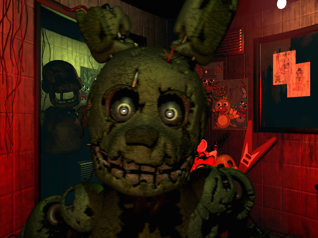 Five Nights At Freddy S 3 Easter Eggs Guide Walkthroughs The