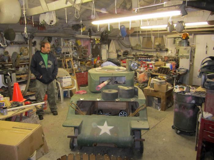 Tank Restart