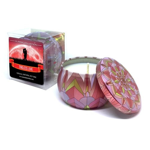 Endless Love Travel Tin Candle - Travel Tin Collection ...