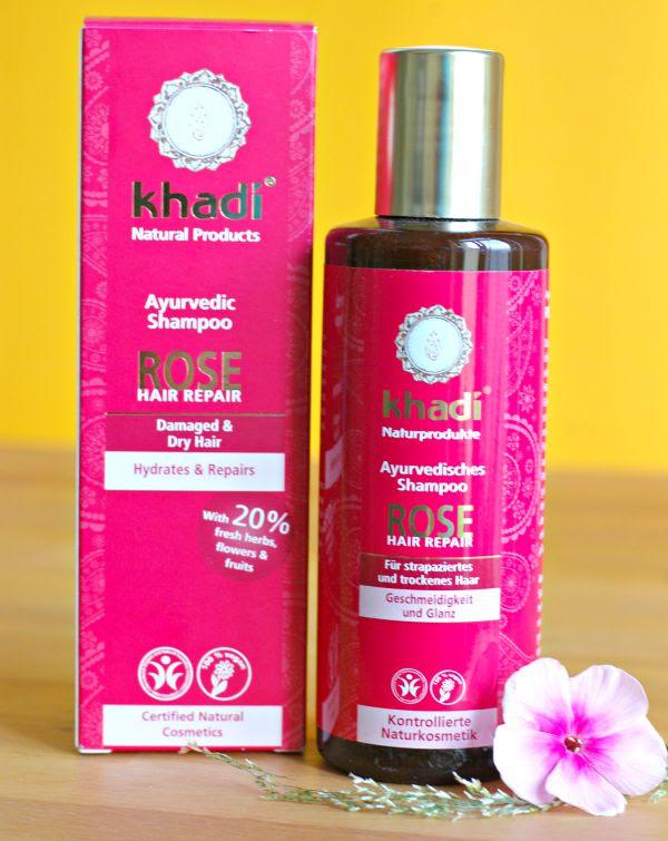 Khadi Rose Hair Repair Shampoo Test Extrem Trockene Haare