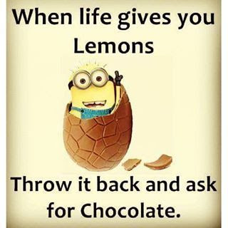 When Life Gives You Lemons Throw It Back And Ask For Chocolate