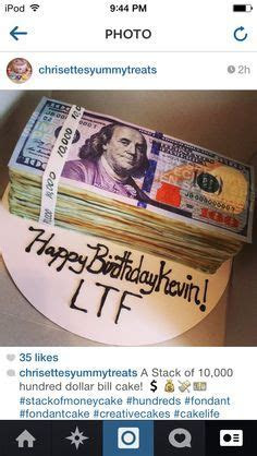 Million dollar cake with edible ink Benjamins ; )   My