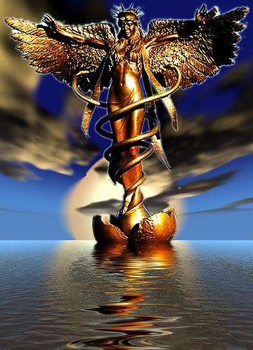 Hermes Rising by new_illuminati1.