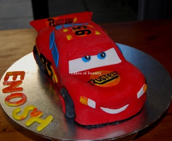 Remarkable Car Sport Car Cake Personalised Birthday Cards Paralily Jamesorg