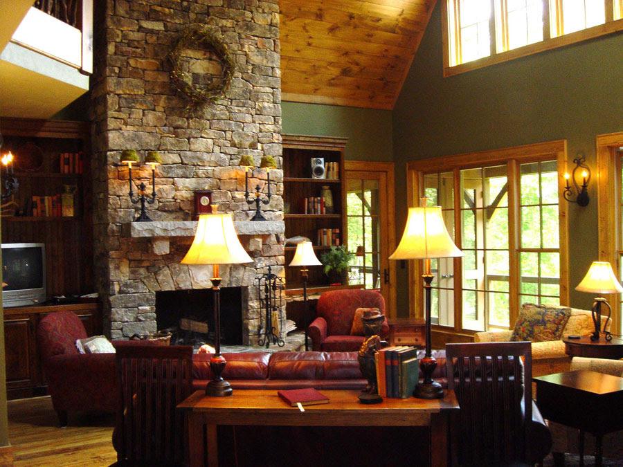Cozy 1890's turquoise interior design cottage on Sullivan ...