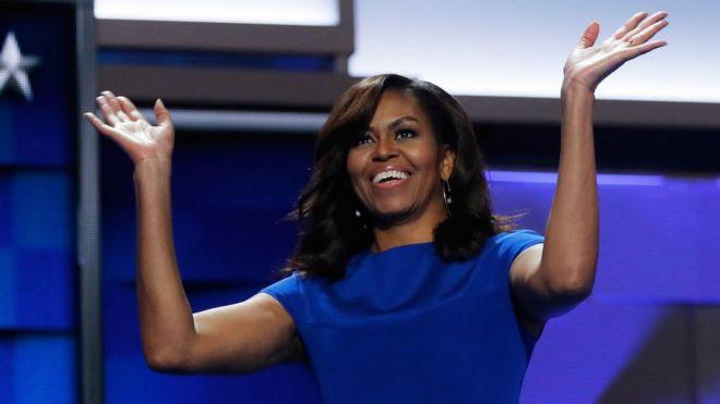 Michelle Obama, de 52 años, es la primera mujer negra en ser primera dama de Estados Unidos.