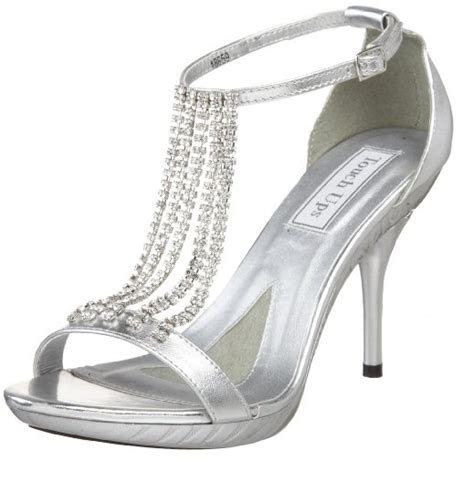 Cute cheap bridal silver wedding shoes for women 2018