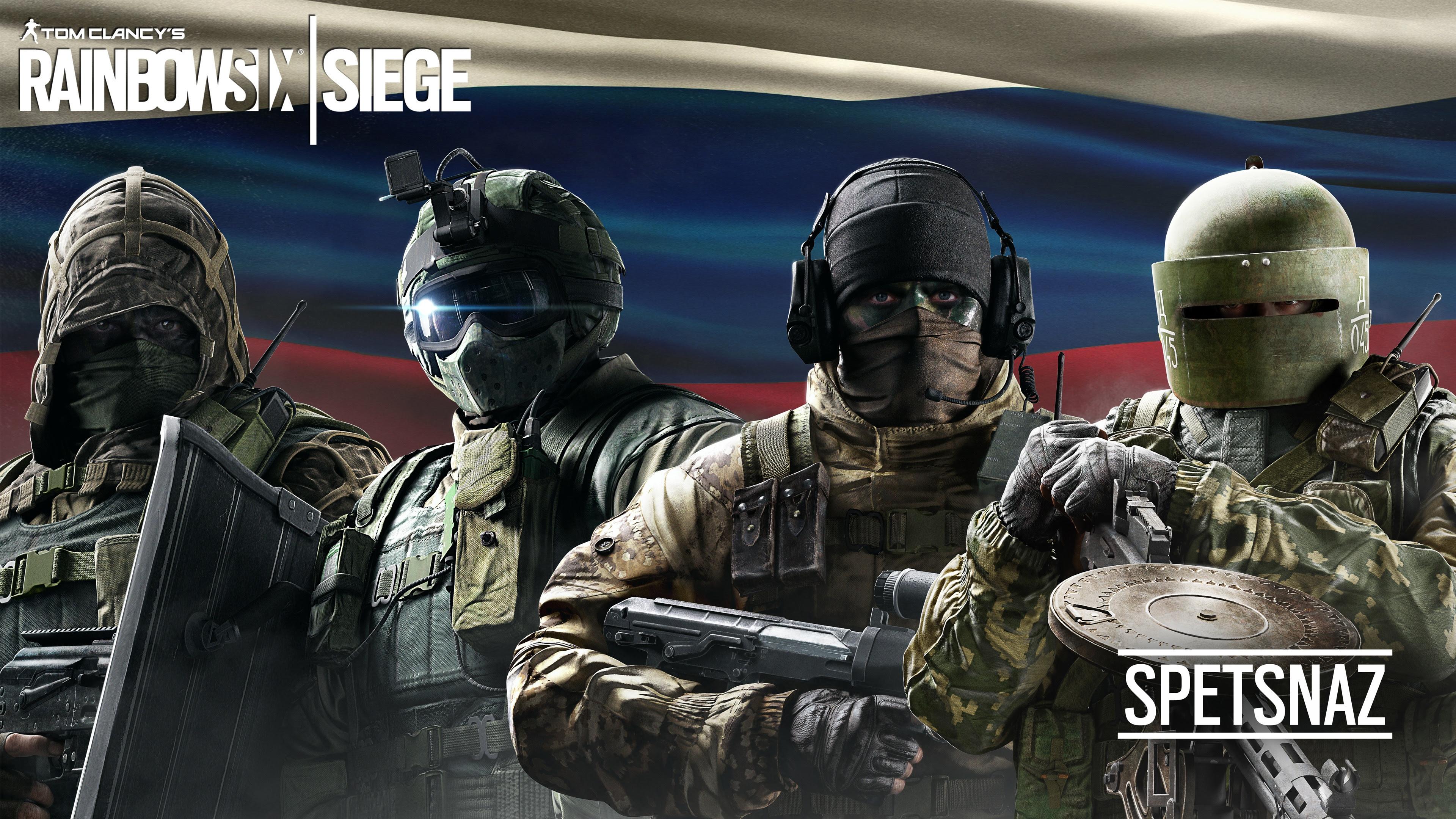 Tom Clancy S Rainbow Six Siege Spetsnaz Wallpapers In Jpg Format