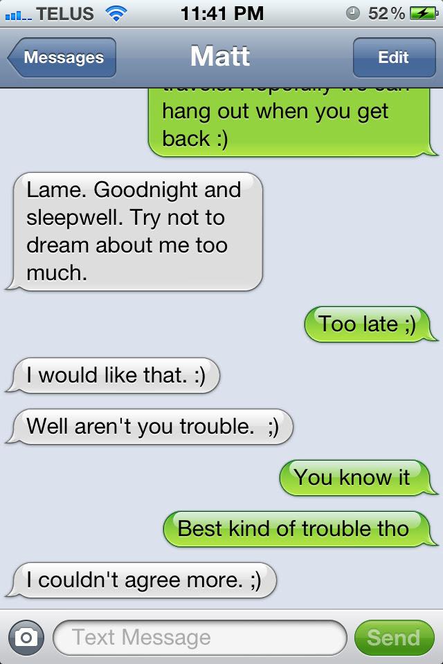 Messages text the flirty best 9 Flirty