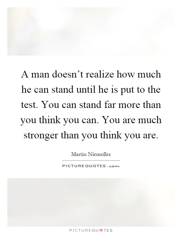 Stronger Than You Think Quotes Sayings Stronger Than You Think