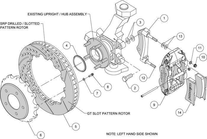 Wiring Diagram: 29 Brake Caliper Parts Diagram