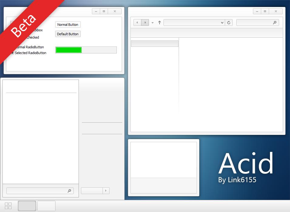Acid Beta Template Windows 8
