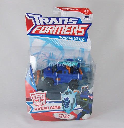 Transformers Sentinel Prime Animated Deluxe - caja