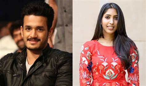 Akhil Akkineni and Shriya Bhupal's engagement card OUT