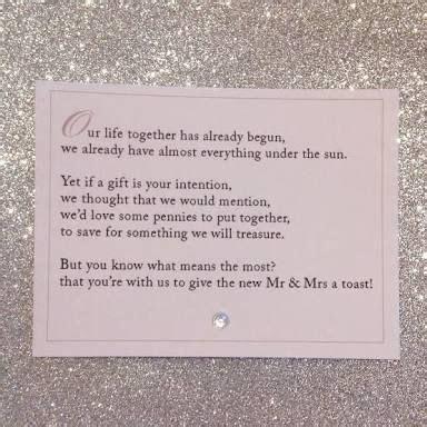 wedding gift card honeymoon donation   Google Search