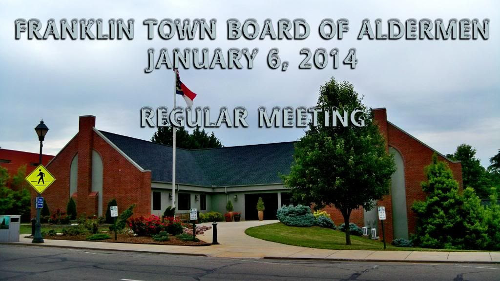 Franklin Aldermen Jan 6th 2014