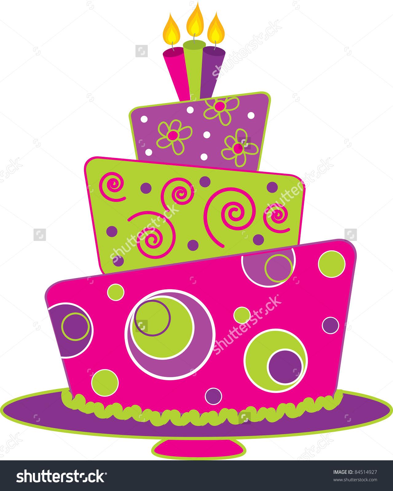 Cake Illustrations Royaltyfree Vector Graphics  Clip Art
