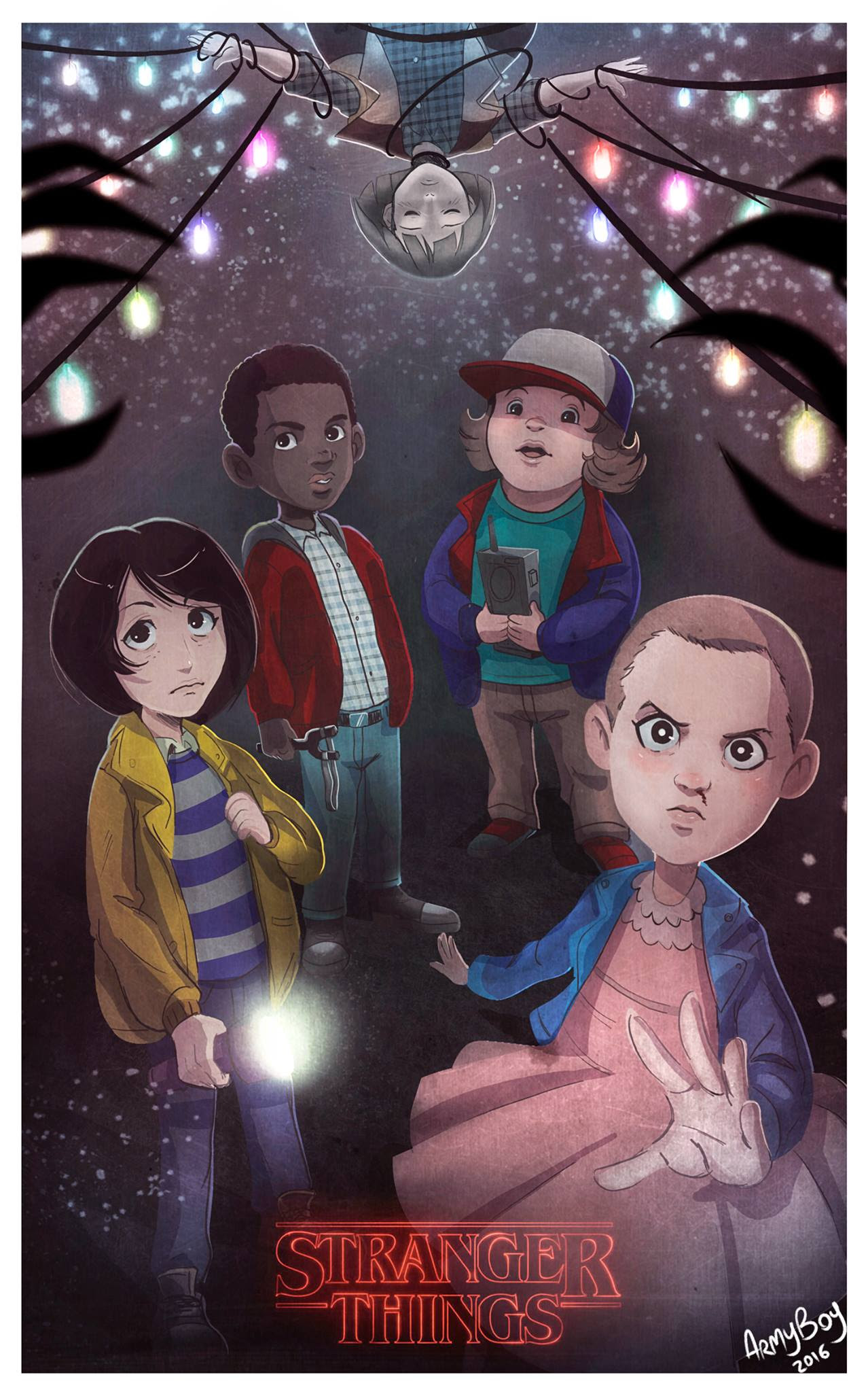 STRANGER THINGS by ARMYCOM on DeviantArt