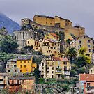 Corte by a winter morning - Corsica