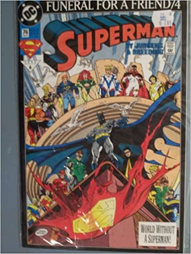 Funeral For A Friend Superman Comic Value