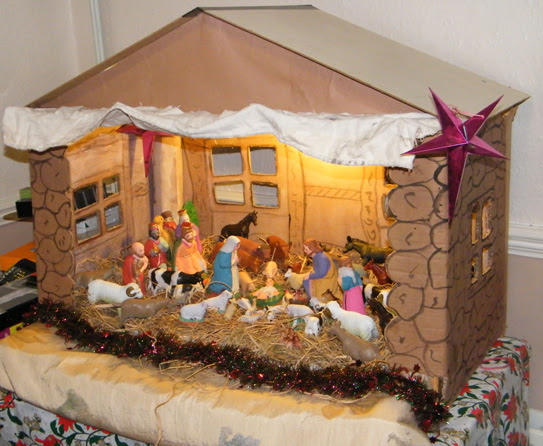the manger constructed to make this region look attractive you may set